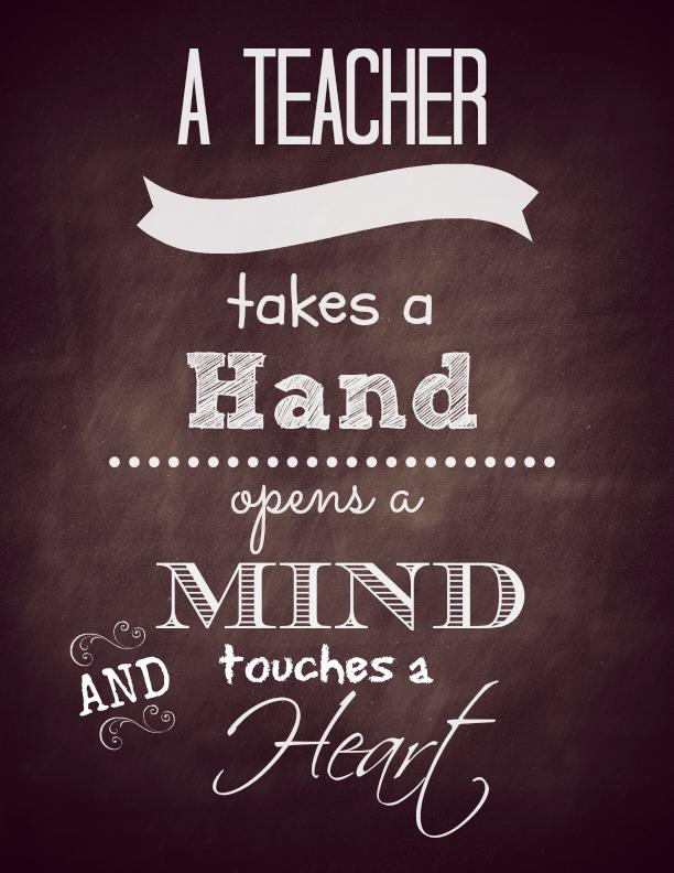 Teacher Appreciation Gift We Heart Edu