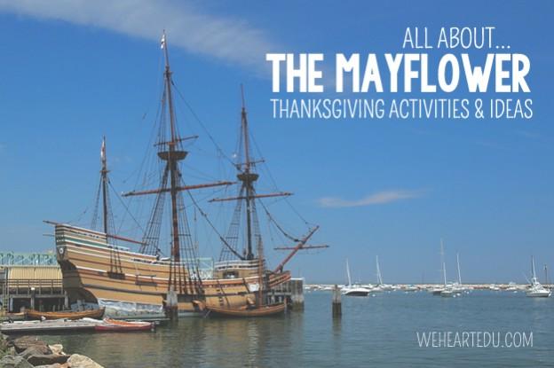 mayflower thanksgiving activities ideas