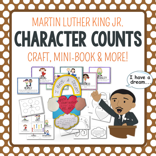 MLK Day Craftivity on Character