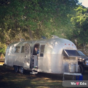 Shae in Airstream